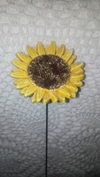 Kerámia napraforgó virág 3.
