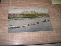 Régi Budapest Királyi Vár 1916 Képeslap