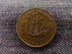 Anglia II. Erzsébet 1/2 Penny 1955 (id8827)