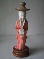 Kínai bölcs márványból faragva