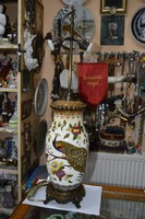 Régi restaurált fischer asztali lámpa