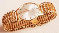 Exclusive 18K arany 82.4gr Egyedi 1960s férfi öltönyóra arany karóra Tökéletes!