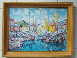Vén Emil festmény - Dubrovnik