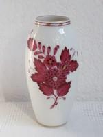 Herendi porcelán váza Apponyi mintával 1930 k. hibátlan állapotban!