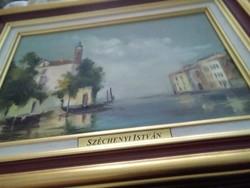 Velencei kulvaros Szecsenyi Istvan festmenye