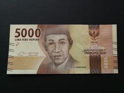 Indonézia 5000 Rupiah UNC 2016/17