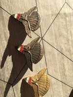 Magyar ejtőernyös jelvény,3 drab,arany,ezüst,bronz