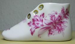 Herendi porcelán cipő hibátlan állapotban!