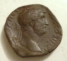 Hadrianus sestertius 24.6gr!!!