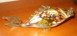 Muránói üveg hal.27 x 13 cm
