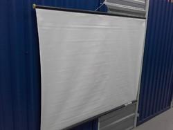 Retro Monalux nagy méretű vetítő vászon  126,5 x 95 cm