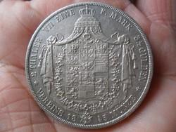 Porosz Ezüst 2-Tallér 1845
