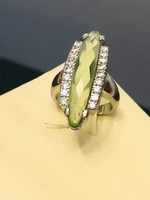 Lenyűgöző ezüst gyűrű