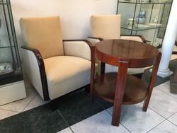 Art Deco fotelek párban