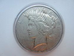 1923 Usa Liberty Peace dollar ezüst érme