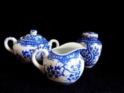 Japán porcelán teás edények