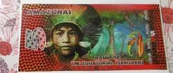 5 Francs Egyenlítői területek Amazonas Ritka!!