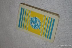 Magyar kártya VILLÉRT reklám felirattal ( DBZ 0071 )