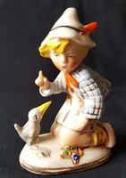 Porcelán Germany figura, hibátlan, jelzett