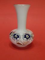 ÚJ! Zsolnay búzavirágos váza