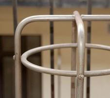Bauhaus  -  Art deco csővázas esernyő/sétapálca tartó