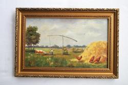 Szathmáry Piroska festmény