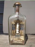 Pincetok palack türelemüveg a 19. századból