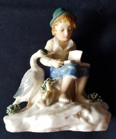 ENS Volkstedt porcelán, gyönyörű, 1900-as évek első fele