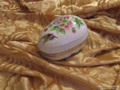 Gyönyörű Hollóházi Pannónia Collection ékszertartó,bonbonier
