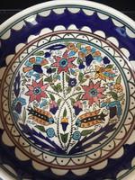 Kézzel festett, Izraelből való gyümölcstartó