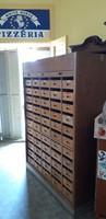 55 fiokos loft rolos kartotek szekreny