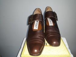Női bőrcipő-1X használt,36,5