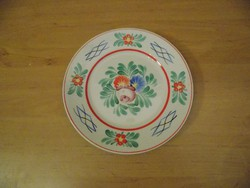 Hollóházi porcelán falitányér 18 cm (3p)