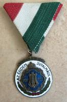 Az Érdem Jutalmául kitüntetés MDEOSZ  /1930 évek/Magyar Dalos Egyletek Országos Szövetsége