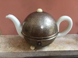 Art deco jellegű kávés kanna