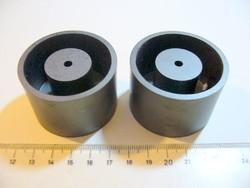 Ferrit fazék vasmag 50mm átmérő - RÉGI RÁDIÓ ALKATRÉSZ