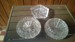 Akciós ár ! Ólomkristály hamutál /kínáló is lehet sósnak stb.