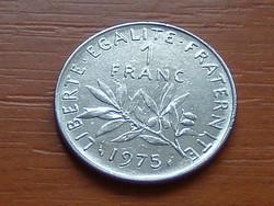 FRANCIA 1 FRANC FRANK 1975