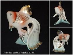 Hollóházi hal aranyhal.