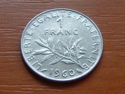 FRANCIA 1 FRANC FRANK 1960