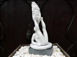 """Kolozsvári Grandpierre Miklós """"Napimádó"""" című 44 cm magas márványszobra gyűjteményből eladó"""