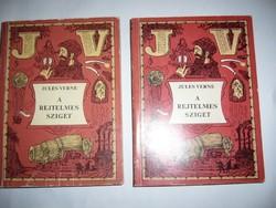 A REJTELMES SZIGET I-II KÖTET JULES VERNE - könyv-MPL csomagautomatába is mehet