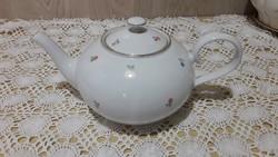 Csehszlovák porcelán teás kanna, teakiöntő