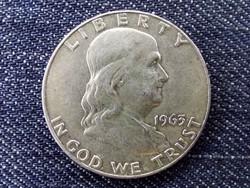 USA .900 ezüst 50 Cent 1963/id 10304/