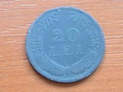 ROMÁNIA 20 LEI 1942 CINK #