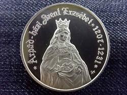 Árpád-házi Szent Erzsébet születésének 800. évfordulójára .925 ezüst 5000 Forint 2007 BP PP/10228/