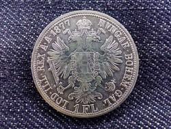 Ausztria Ferenc József .900 ezüst 1 Florin 1877/id 9354/