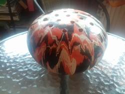 Virágtartó gömb (Magyarszombatfai kerámia)