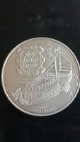 Régi dunai hajók Hableány 1867 BP 1995