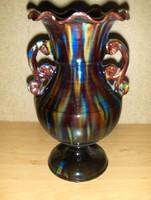 Mezőtúri kerámia váza GOMBÁS 25,5 cm (8/d)